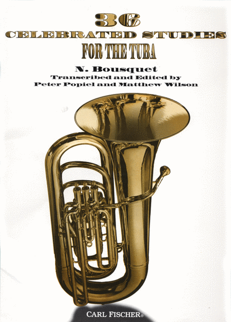36 Celebrated Studies For the Tuba
