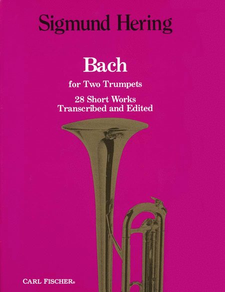 Bach For Two Trumpets