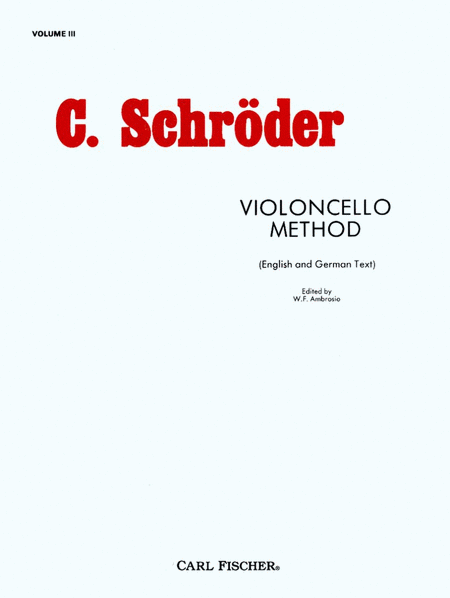 Practical Method for Violoncello-Vol. III