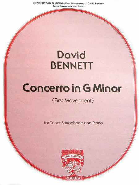 First Movement From Concerto in G Minor