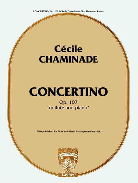 Concertino, Op. 107