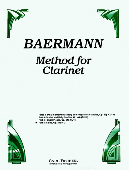 Method for Clarinet-Pt. 5