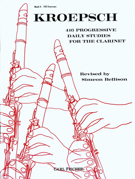 416 Progressive Daily Studies for the Clarinet - Book 2 (183 Exercises)