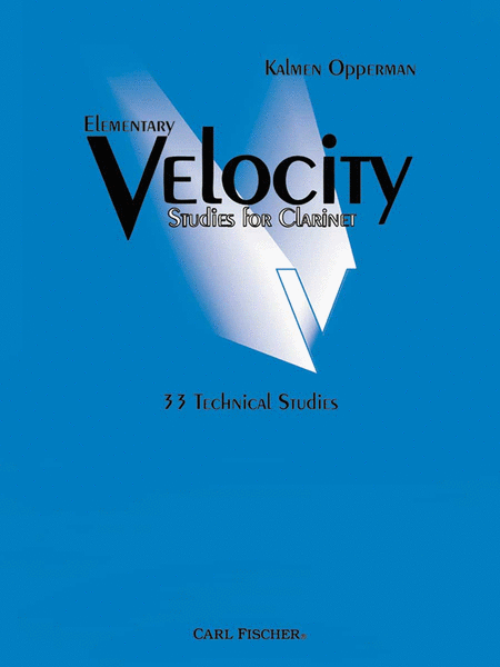 Elementary Velocity Studies For Clarinet