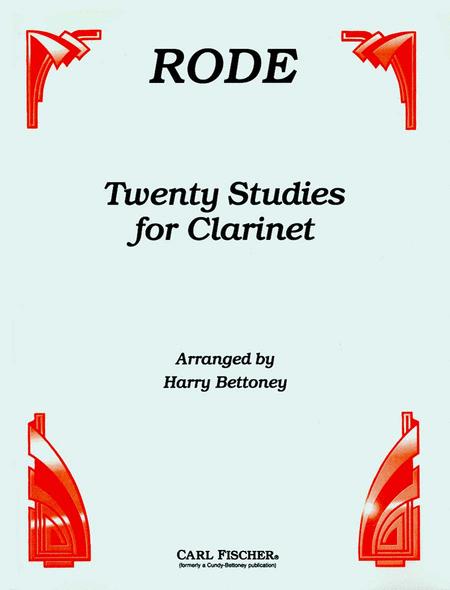Twenty Studies for Clarinet