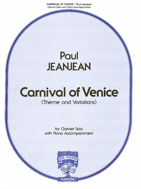 Carnival of Venice (Theme & Variations)