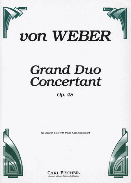 Grand Duo Concertant, Op. 48