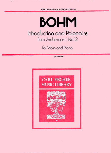 Introduction and Polonaise from 'Arabesques,' No. 12