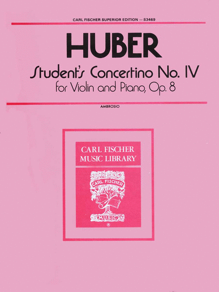 Students Concertino No. IV
