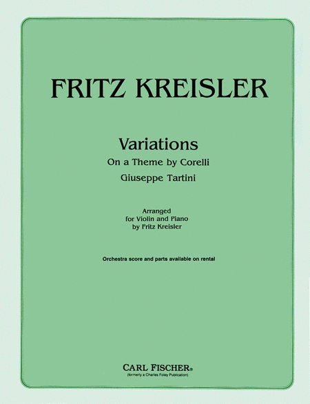 Variations on A Theme By Corelli