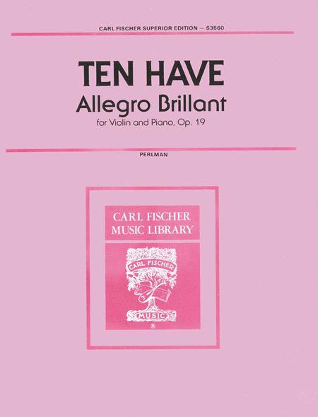 Allegro Brillant, Op. 19