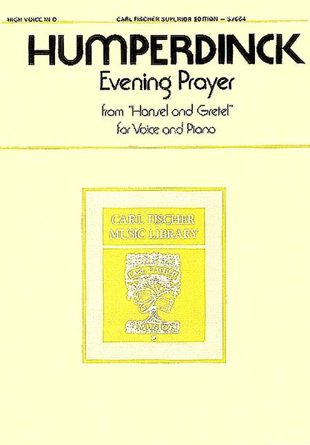 Evening Prayer from 'Hansel and Gretel'
