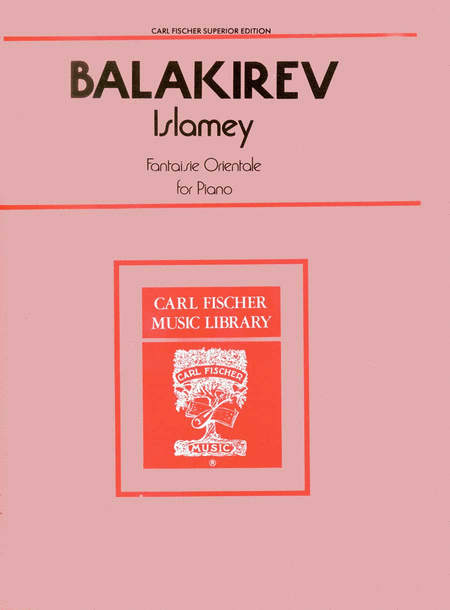 Islamey (Fantasie Orientale)