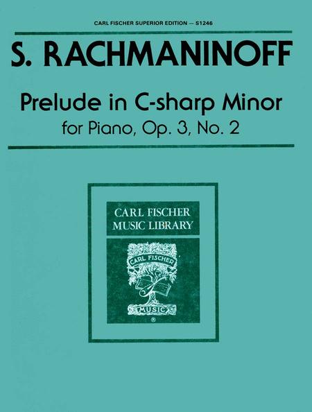 rachmaninoff g minor prelude pdf