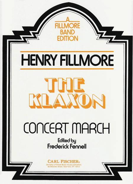 Klaxon, The (March)