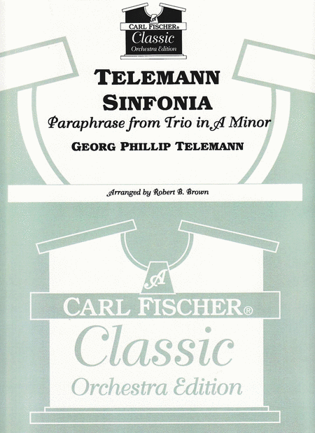 Telemann Sinfonia-Paraphrase from Trio in A Minor