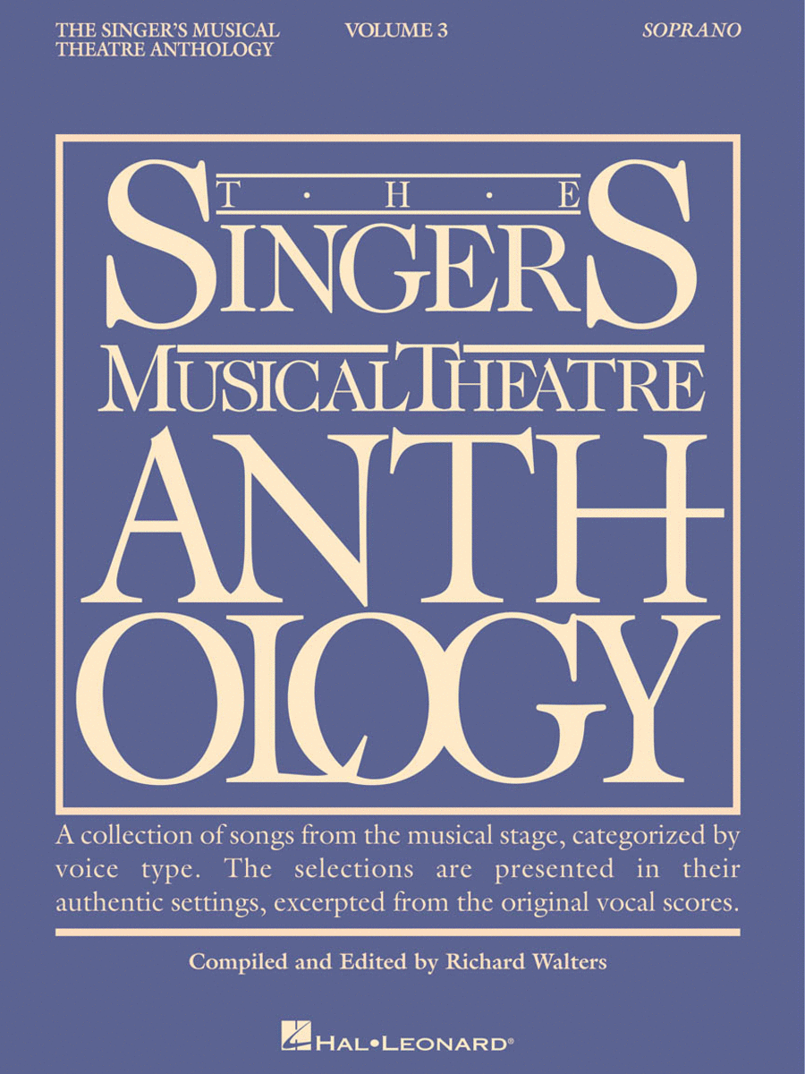 The Singer's Musical Theatre Anthology - Volume 3 - Soprano (Book only)