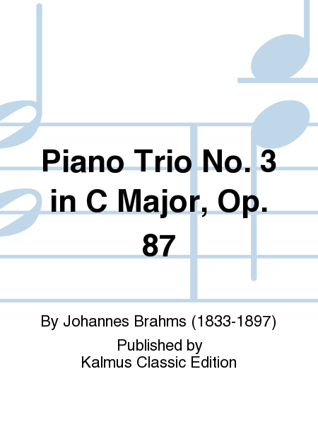 Piano Trio No. 3 in C Major, Op. 87