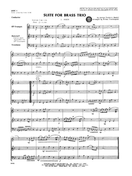 Suite for Brass Trio