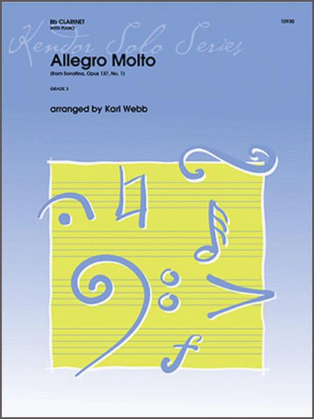 Allegro Molto (from Sonatina, Op. 137, No. 1)