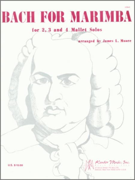 Bach for Marimba
