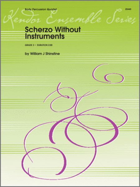 Scherzo Without Instruments