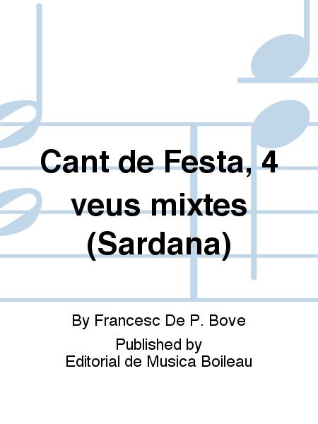 Cant de Festa, 4 veus mixtes (Sardana)