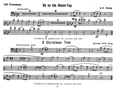 Christmas: The Joy & Spirit, Book 3 - 2nd Trombone