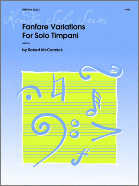 Fanfare Variations For Solo Timpani
