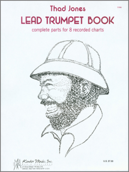 Thad Jones Lead Trumpet Book