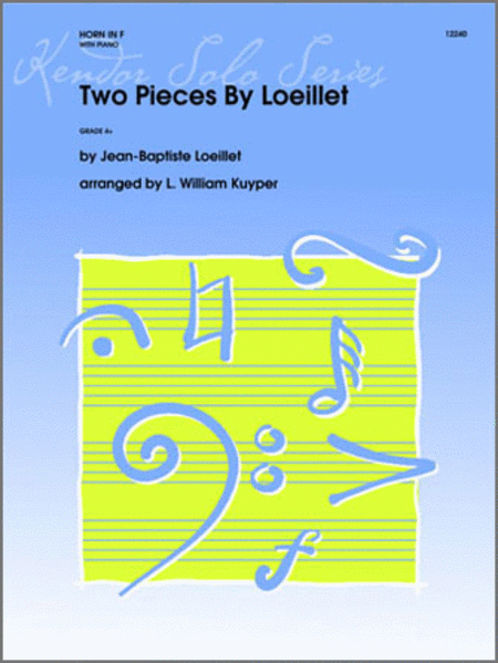 Two Pieces By Loeillet
