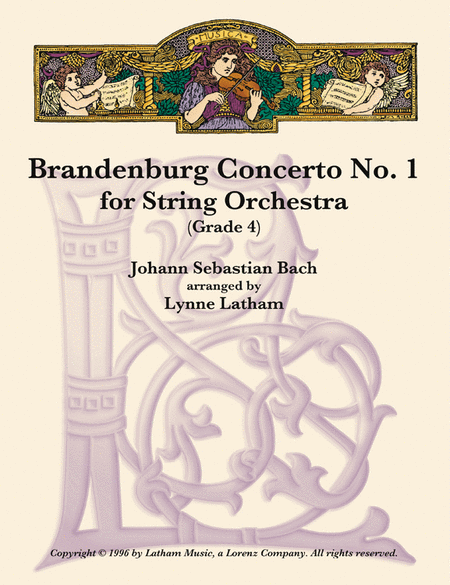 Brandenburg Concerto #1 for String Orchestra