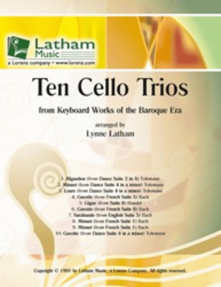 Ten Cello Trios
