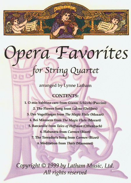 Opera Favorites for String Quartet