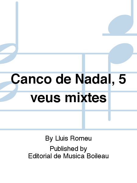 Canco de Nadal, 5 veus mixtes