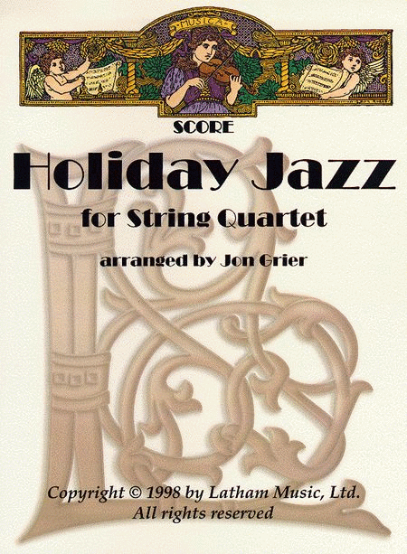 Holiday Jazz for String Quartet