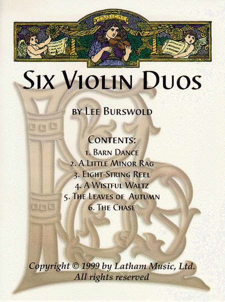 Six Violin Duos