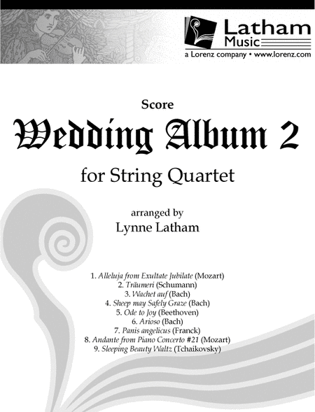 Wedding Album 2 for String Quartet - Score