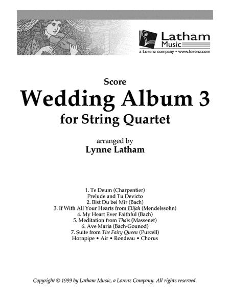 Wedding Album 3 for String Quartet - Score
