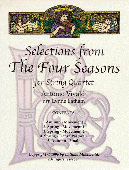 Selections from The Four Seasons for String Quartet