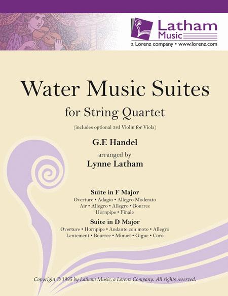 Water Music Suites for String Quartet