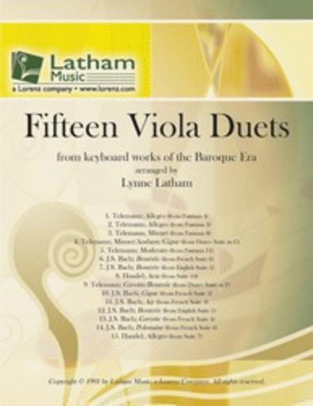 Fifteen Viola Duets