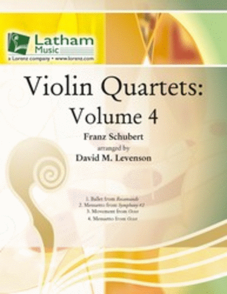 Violin Quartets: Volume 4