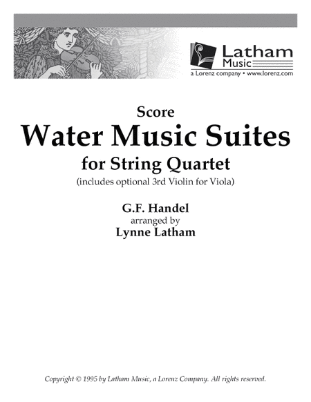 Water Music Suites