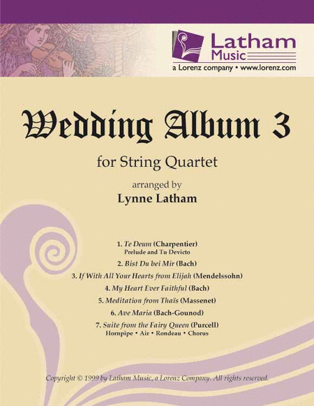 Wedding Album 3 for String Quartet