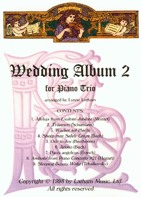 Wedding Album 2 for Piano Trio