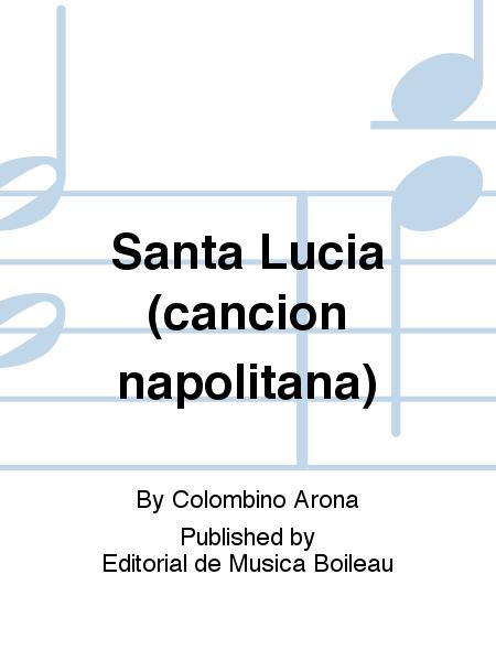Santa Lucia (cancion napolitana)