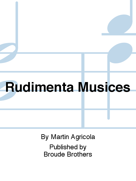 Rudimenta Musices
