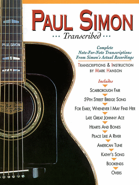 Paul Simon - Transcribed
