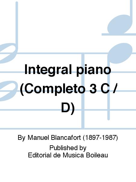 Integral piano (Completo 3 C / D)